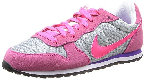 Nike Wmns Genicco - Zapatillas para Mujer, Color Blanco/Rosa/Morado, Talla 35.5