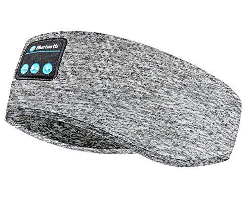 ACCOF Casque de Sommeil sans Fil,Bluetooth 5.0 Bandeau de Sport Ecouteurs avec Ultra-Fins HD Stéréo Haut-parleurs,Cadeaux pour Homme Femme,pour...