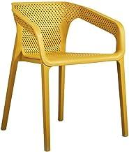 ZZV Silla de comedor estilo Eiffel, patas y asiento acolchado cómodo Silla de diseño de oficina en el hogar Silla de comedor