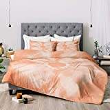 Bedding Set Queen with Comforter Set Duvet Cover Set Tie_Dye Peach Comforter Duvet Cover Bed Sheet Set with Pillowcases 3PCS