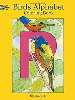 Birds Alphabet: Coloring Book