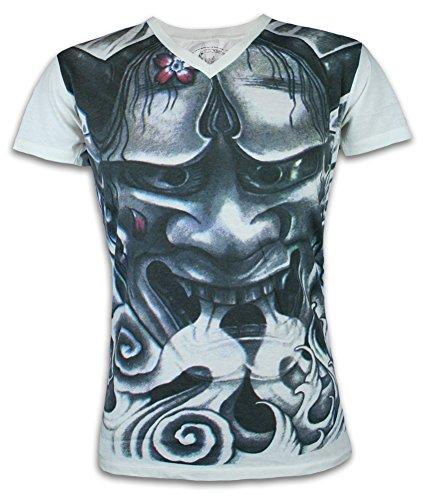 Ako Roshi Camiseta Hombre Demonio de Fuego Talla M L XL Jap
