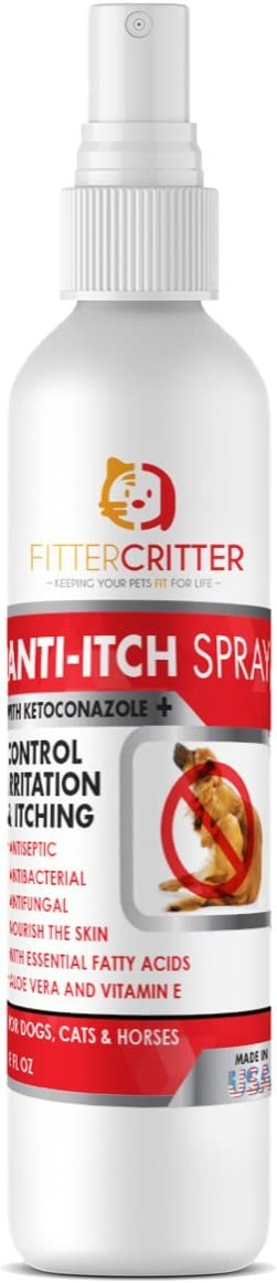 Fitter Limited price sale Critter Chlorhexidine Spray for Dogs Cats Hi w Aloe - Brand Cheap Sale Venue
