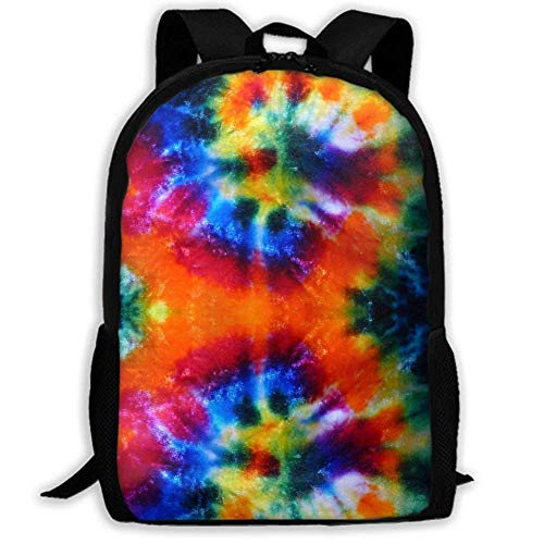 XCNGG NiYoung Laptop Backpack Business Thin and Durable Travel Backpack - University Men and Women Computer Bag - Art Design Tie-dye Printing