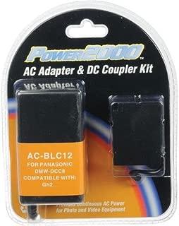 Power 2000 AC Adapter & DC Coupler Kit for Panasonic DMW-DCC8GU