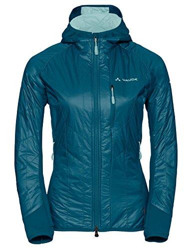 VAUDE Women's Sesvenna Jacket II Veste Isolante pour Le Ski de randonnée Femme, Dragonfly, FR : M (Taille Fabricant : 40)