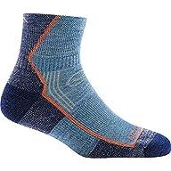 Side Profile View of Women's Darn Tough Hiker 1/4 Cushion Sock