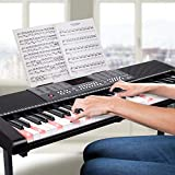IMG-2 bakaji tastiera musicale pianola elettronica