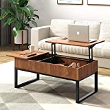 WLIVE Wood Lift Top Coffee Table with Hidden Storage...