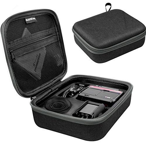 Honbobo Reise Tasche Case Kompatibel mit Insta360 ONE R & Zubehör