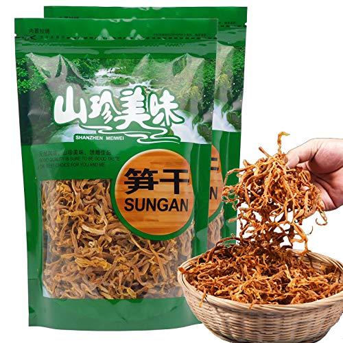 Dried Tender Bamboo Shoots Ba Du Bamboo Shoots 1000 Grams (2.2 Pound) /(500g/bag)