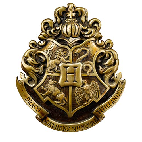 The Noble Collection Hogwarts Crest Wandkunst