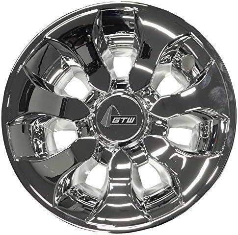 (Set of Four) 8 inch Drifter Golf Car Wheel Covers...