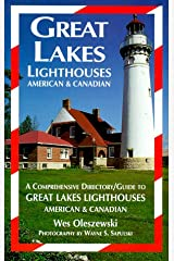 Great Lakes Lighthouses: American and Canadian Paperback