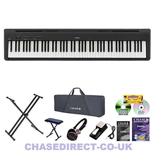 Kawai ES-100 Digital Portable Stage Piano in Black