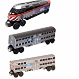 Chicago Metra MP-36 3 pc. Set by Whittle Shortline Railroad - Manufacturer