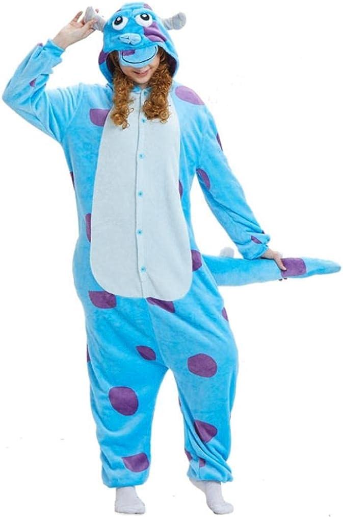 LONYENMAOnesies For Adults Blue Bull Kigurumi Animal Free Shipping Cheap Bargain Gift Fla Pajamas Be super welcome