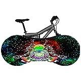 Funda de Bicicleta a Prueba de Polvo, Bolsa de Almacenamiento de protección contra el Polvo para Bicicletas Interiores, Cubierta de Bicicleta elástica Lavable, Resistente a los arañazos, Acc