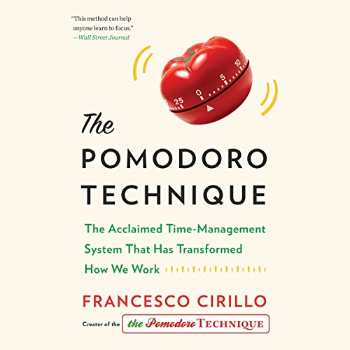 The Pomodoro Technique audiobook cover art