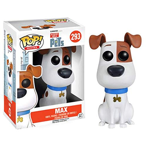 Funko Pop Movies : The Secret Life of Pets - MAX 3.75inch Vinyl Gift for Cartoon Fans SuperCollection