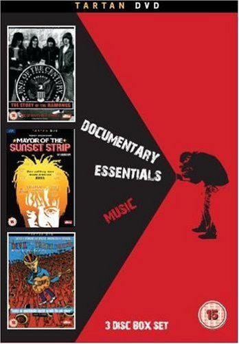 Documentary Essentials - Music: Ramones - End Of A Century/The Devil and Daniel Johnston/Mayor Of The Sunset Strip [DVD] [Reino Unido]