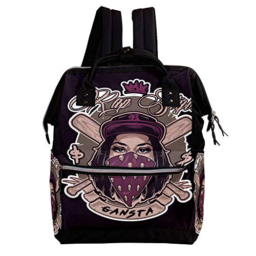 Learn More About Skull Z001 Diaper Backpack Large Capacity Baby Bag Multi-Function Travel Nappy Bags Nursing Bag Fashion Mummy Roomy Durable for Baby Care Stylish Mummy Bag for Women,Men