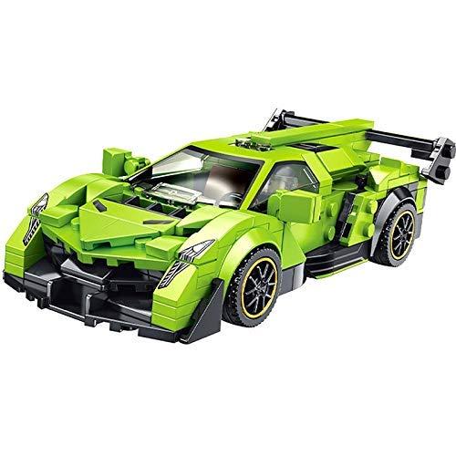 Vehículo de ingeniería Speed Champions Creator Coche de Carreras Deportivo Supercar Vehículo Bloques de construcción Kit Ladrillos Modelo clásico de Moc Juguetes para niños Regalo