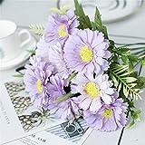 YCJCG 38 cm 10 Köpfe Kleine Daisy Künstliche Seidenblumen Bouquet Für Haupthochzeitsdekoration...