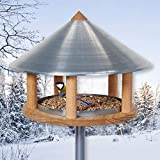 VOSS.garden Vogelhaus Roskilde im original dänischen Design - Vogelhaus, Vogelfutterstation, Futterhaus, Vogelhäuschen