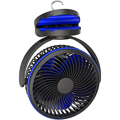 Camping Tent Fan with Timer: Long Lasting Battery Powered