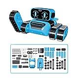 ROBOT PLAZA ロボットクローラー 組立式 工作セット 組み立て ロボット おもちゃ アームクローラー STEM教育 ジェスチャー 簡易プログラミング 日本語説明書 知育玩具 電子工作教育 自由研究 小学生 子供 誕生日 プレゼント