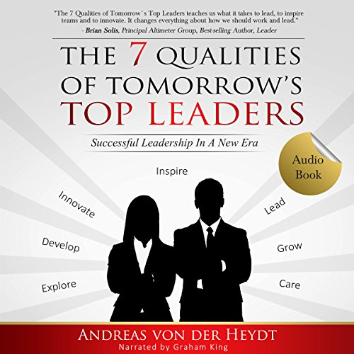 The 7 Qualities of Tomorrow's Top Leaders audiobook cover art