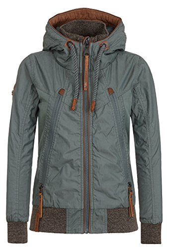 Naketano Damen Jacke Tiffy Du Vogel Jacket
