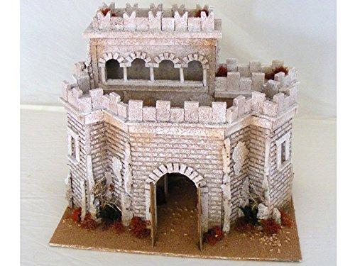 Schloss arabischen X 10cm Zubehör Gebäude für Krippe