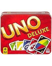 Uno Deluxe Kart Oyunu, 2-10 Oyuncu, 7 Yaş ve Üzeri İçin, Mattel Games K0888