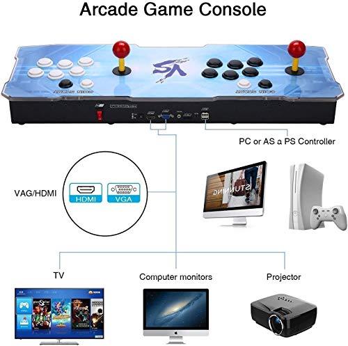 SeeKool Pandora's 9D Juegos clásicos Consola de Videojuegos, 2700 in 1...