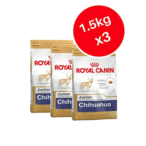 Royal Canin Chihuahua Junior 1,5kg, Puppy Trockenfutter für Hunde (3Stück)