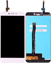 Jiangym Mobile Phone LCD Screen for Xiaomi Redmi 4X LCD Screen and Digitizer Full Assembly(Black) LCD Screen (Color : White)