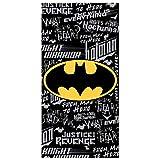 KidCo Badetuch Batman-Logo aus Baumwolle