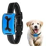 ColPet No Bark Collar, Rechargeable Anti Bark Collar Beep/Vibration/Safe Static Shock 7 Sensitivity Levels Bark Training Collar Reflective Strap for 15-150Ib Dogs
