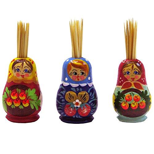 Zahnstocherhalter 'Matrjoschka'