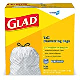 Glad Tall Kitchen Drawstring CloroxPro Trash Bags - 13 Gallon - 100 Count (Packaging May Vary)