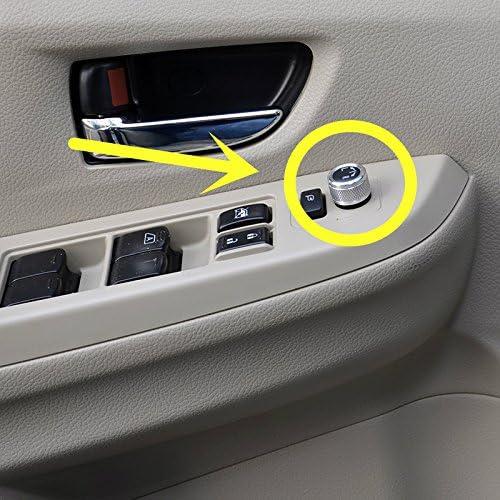 HOTRIMWORLD Interior Car Door Rearview Mirror Milwaukee Mall cheap Adjustment Tr Knob