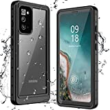 ANTSHARE for Samsung Galaxy Note 20 Case Waterproof, Built in Screen Protector 360° Full Body Heavy Duty Protective Shockproof IP68 Underwater Case for Samsung Galaxy Note 20 6.7inch