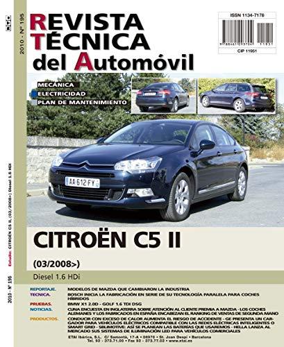 Documentación técnica RTA 195 CITROEN C5 II (2008 -2017) -