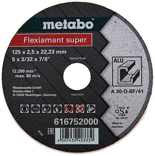 Metabo Flexiamant Super Trennscheibe Alu (Universalscheibe, offene Struktur; Qualität: A 30-O, 12200/min) 616752000