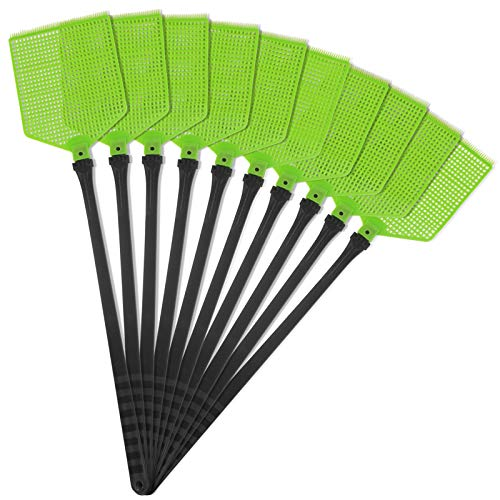 Gardigo Fliegenklatschen 10er Set I Fliegenschutz, Mückenschutz, Insektenschutz I gegen Fliegen, Mücken und Insekten