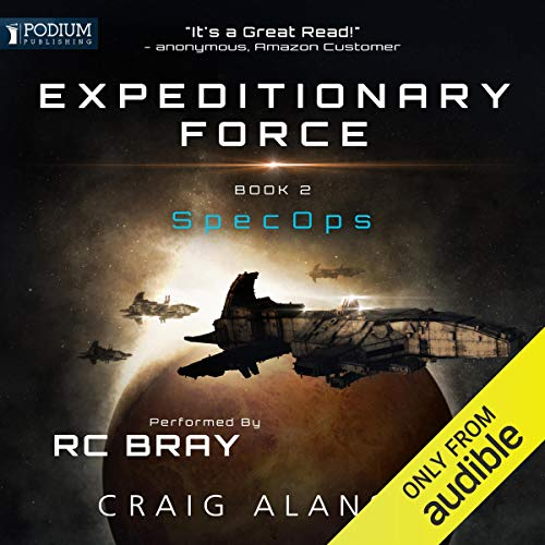 SpecOps audiobook cover art