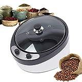 TFCFL Máquina eléctrica para hacer café tostado, 1200 W, tostador de granos de café eléctrico en forma de S,...