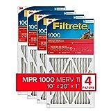 Filtrete 24x30x1, AC Furnace Air Filter, MPR 1000, Micro...